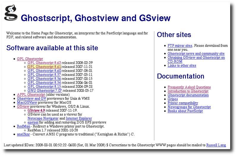 Guía de instalación visor de archivos PDF - (Ghostscript +